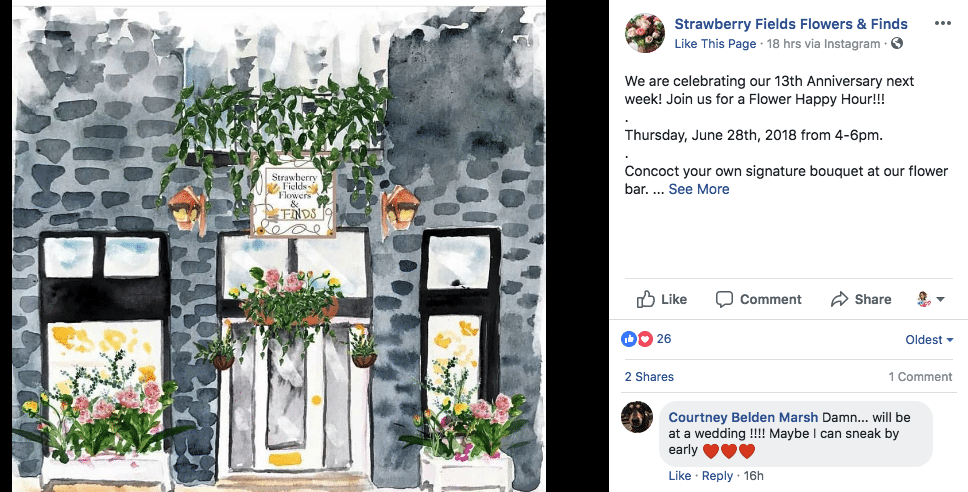 Virginia Florist To Hold 13th Anniversary Party