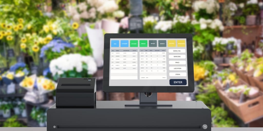 generic pos for florists
