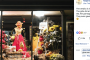 A floral scarecrow window display made Napanee Blooms the talk of the town.