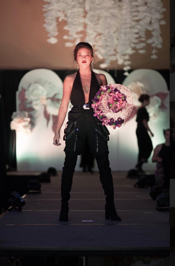 The South Dakota Florists Association staged a runway show honoring survivors of sexual assault in late September during the group's convention. About a third of the models participating in the show identified as survivors, walking alongside other volunteers. (To respect the women's privacy, organizers did not identify individual women as survivors.)