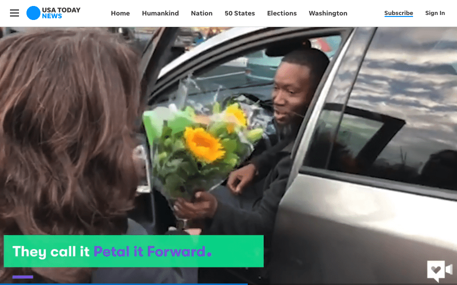 Petal It Forward Generates 90 Million Consumer Impressions