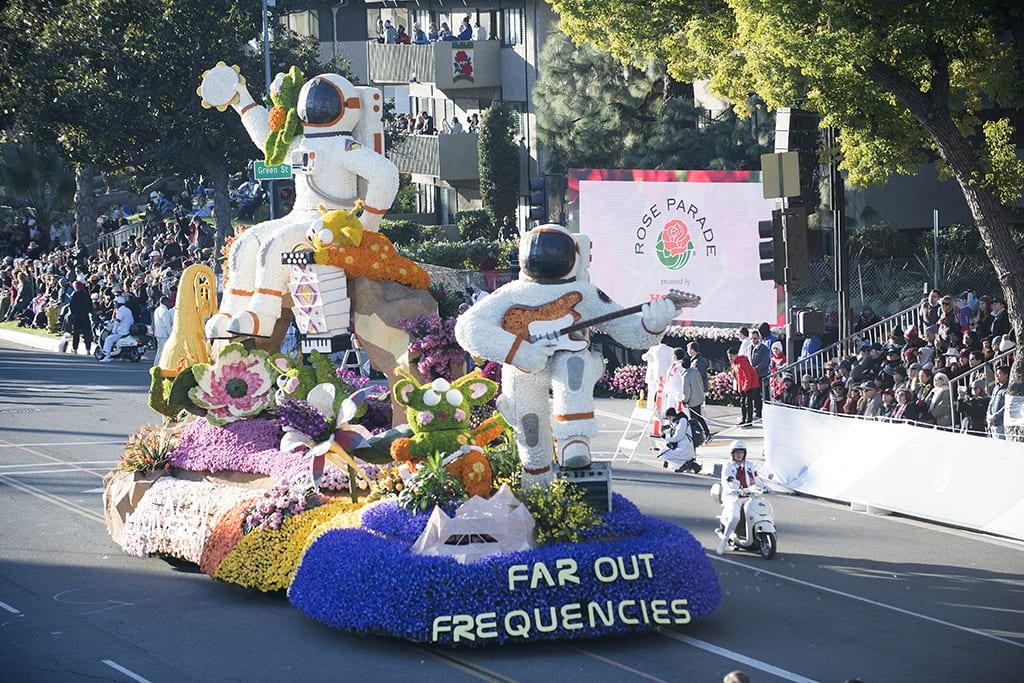 Rose Parade Includes More Entertainment — And a Big Win for Students