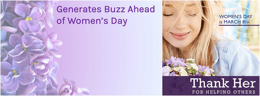 Raise Awareness — and Sales for Women's Day