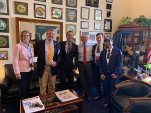 Members of the SAF California delegation met with Congressman Jimmy Panetta (D), a lawmaker with deep ties to the industry and a former speaker at CAD.