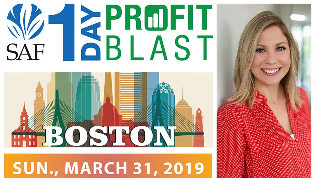 """Crystal Vilkaitis, owner of Social Media, will present """"Six Steps to a Profitable Social Media Strategy,"""" at the Society of American Florists' 1-Day Profit Blast in Boston, sponsored by Jacobson, on March 31."""