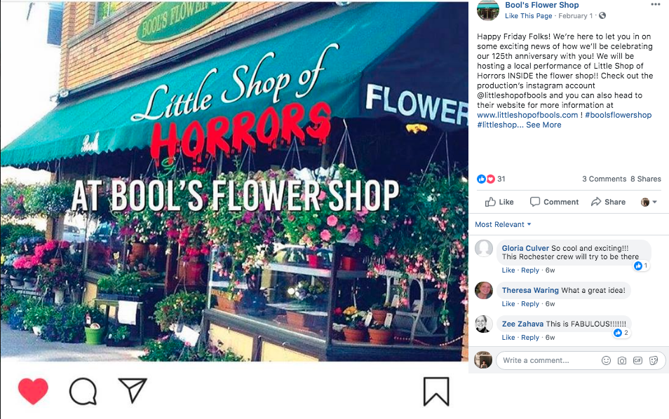 NY Florist to Stage 'Little Shop of Horrors'