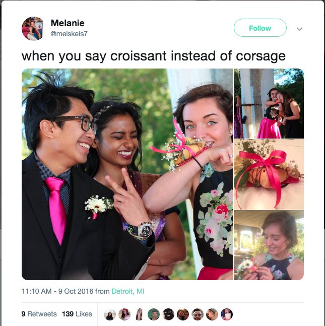 Texas Florist Partners with Restaurant Chain to Create 'Croissant Corsage'