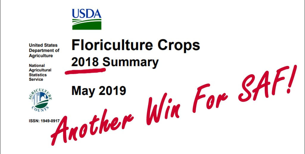 Floriculture Crops Summary Published by Department of Agriculture