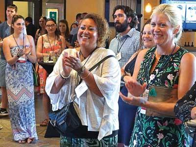 SAF convention NextGen reception