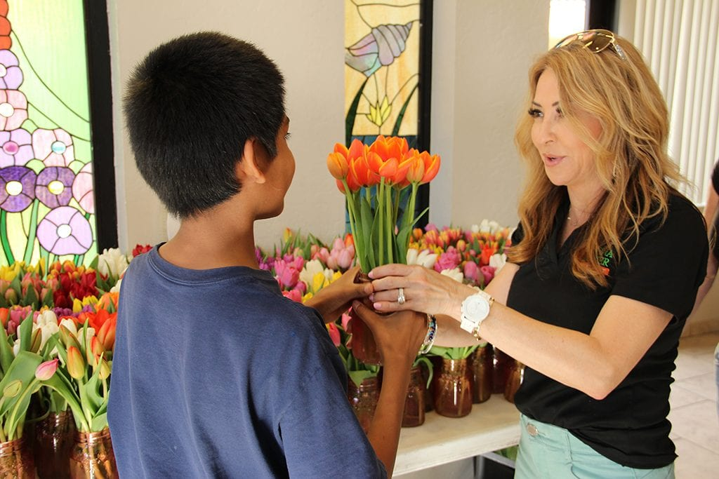 Arizona Florist Builds on PR Success for Mother's Day Donation Drive