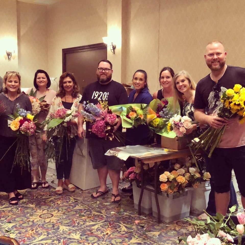 Florida Florists Turn Surplus Flowers into Love
