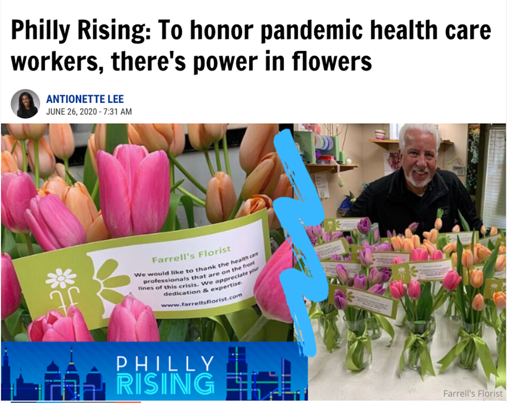 Pa. Florist Rallies Community to Honor Essential Workers