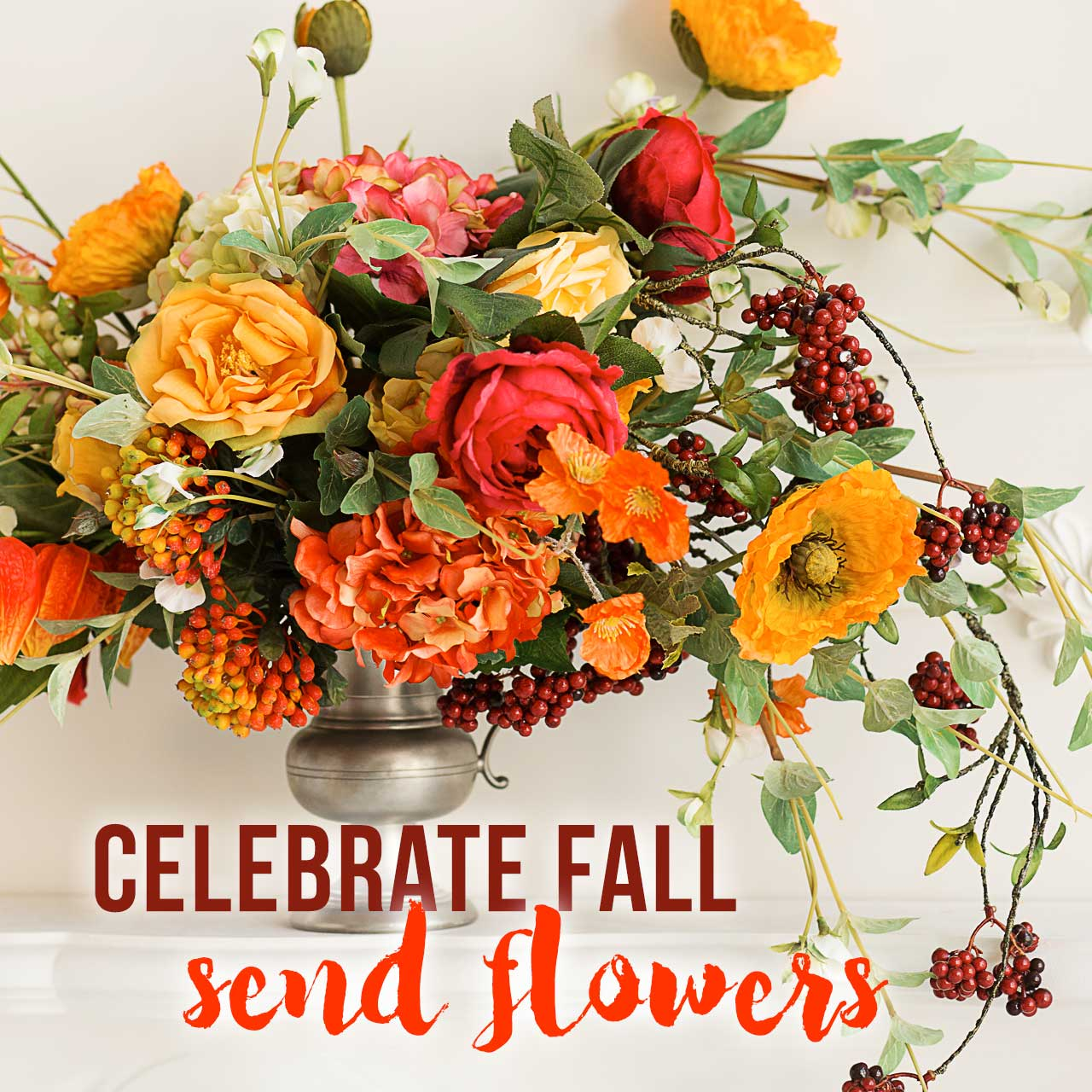 Celebrate Fall - send flowers