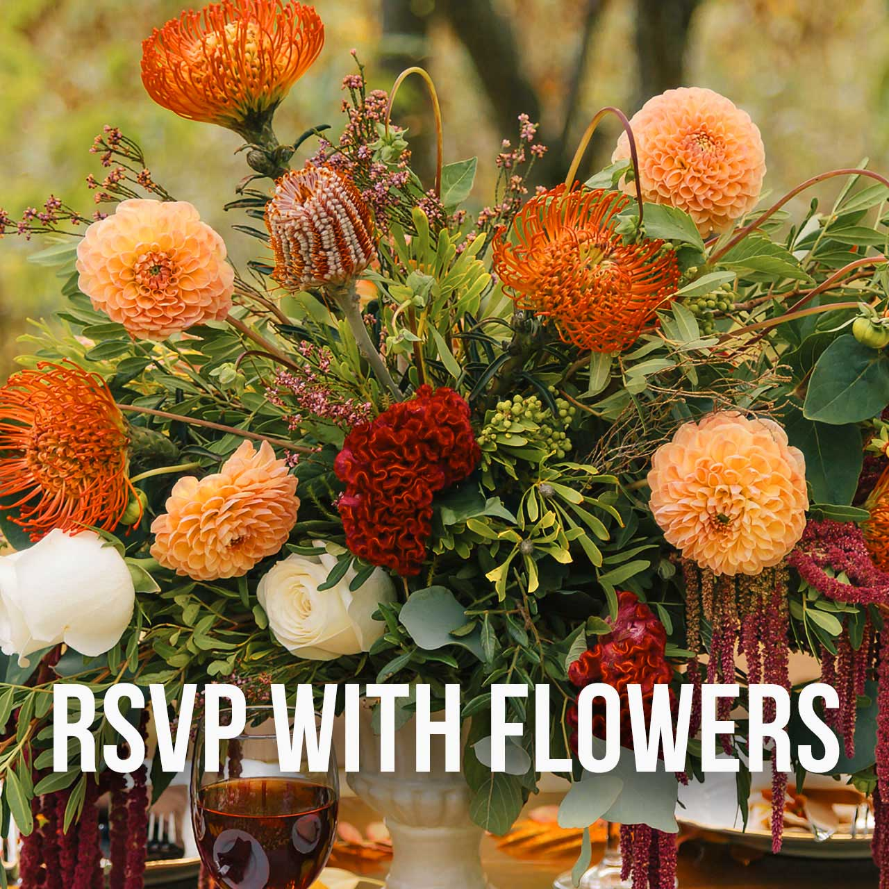 RSVP with Flowers
